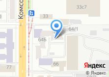 Компания «Общежитие ТГПУ» на карте