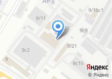 Компания «Амбаръ строительных материалов» на карте