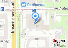 Компания «Томский молочный комбинат» на карте