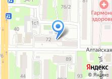 Компания «Окна+сервис» на карте