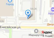 Компания «Электродвигатель-Томск» на карте