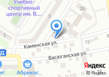 Компания «Строящееся административное здание по ул. Каменская» на карте