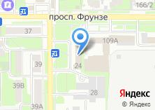 Компания «Департамент социальной защиты населения Томской области» на карте