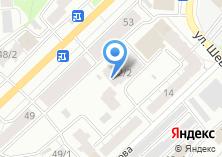 Компания «Мастодонт» на карте