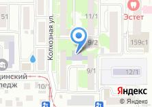 Компания «Сибирская» на карте