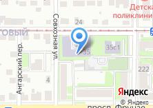 Компания «Специальная коррекционная общеобразовательная школа №39» на карте
