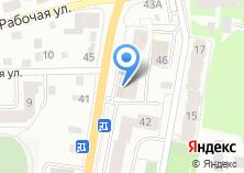 Компания «ЧЕТЫРЕ ЛАПКИ» на карте