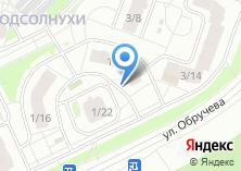 Компания «Виза» на карте