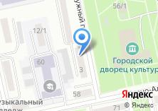 Компания «Мировые судьи г. Бийска» на карте