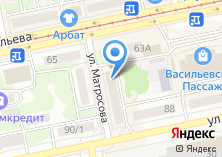 Компания «Билайн Бизнес» на карте