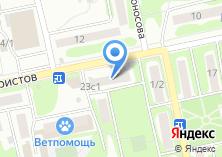 Компания «Мясной магазин» на карте