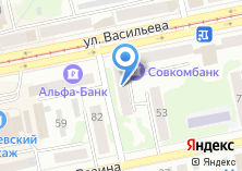 Компания «Галерея дверей на Васильева» на карте