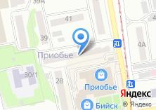 Компания «Участковый пункт полиции Отдел полиции Приобский Межмуниципальный отдел МВД России Бийское» на карте