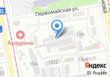 Компания «Автореал» на карте
