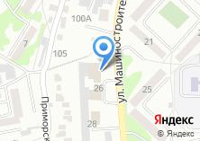 Компания «Кузбасский пищекомбинат» на карте