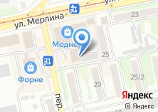 Компания «Бийскодежда» на карте