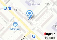 Компания «Участковый пункт полиции Отдел полиции Восточный Межмуниципальный отдел МВД России Бийское» на карте