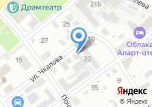 Компания «АлтайСнабСервис» на карте