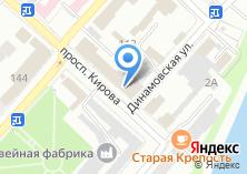 Компания «Ковры на Кирова» на карте