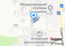 Компания «Раздолье» на карте