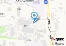 Компания «Алтайский маслосырзавод» на карте