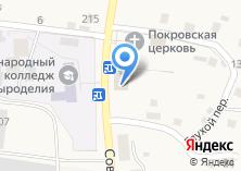 Компания «Эл-Март» на карте