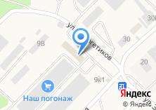 Компания «Инвест» на карте