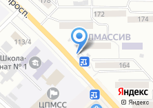 Компания «МТС» на карте