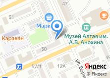 Компания «Горно-Алтайский завод железобетонных изделий» на карте
