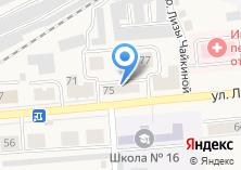 Компания «Лонда» на карте