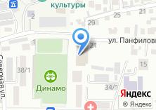 Компания «СДЮСШ Республики Алтай» на карте