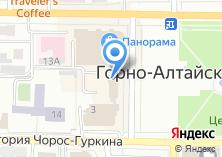 Компания «Ассоциация парикмахеров Республики Алтай» на карте