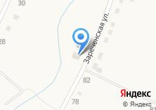 Компания «Продуктовый магазин на Зареченской» на карте