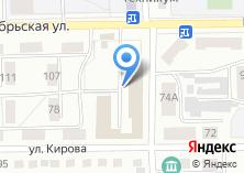 Компания «ВГСЧ Военизированный горноспасательный отряд Восточной Сибири» на карте