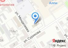 Компания «Отдел Военного комиссариата Республики Хакасия по г. Черногорск и Боградскому району» на карте