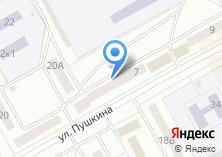 Компания «Черногорск» на карте