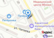 Компания «Черногорск отделстрой» на карте