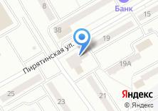 Компания «Магазин продуктов на Пирятинской» на карте