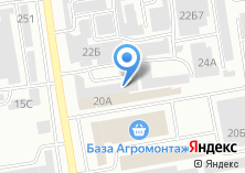 Компания «Оптово-розничный склад продуктов» на карте
