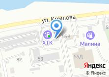 Компания «Хакасия» на карте