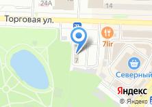 Компания «Строящееся административное здание по ул. Торговая» на карте