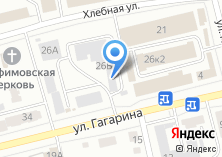 Компания «Столовая на ул. Гагарина» на карте