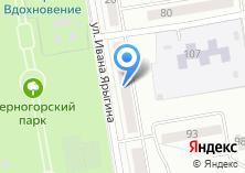 Компания «Сибирь-Лизинг» на карте