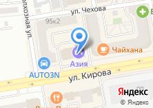 Компания «Азия» на карте