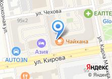 Компания «Компания аренды помещений» на карте
