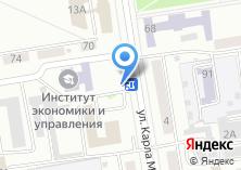 Компания «Мастер Бургер» на карте