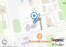 Компания «Строящееся административное здание по ул. Хакасская» на карте
