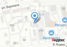 Компания «Forward» на карте