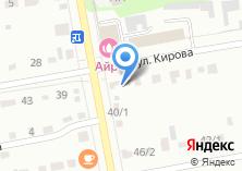 Компания «Технознак» на карте