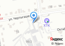 Компания «Шинный магазин на ул. Чертыгашева 9/2» на карте